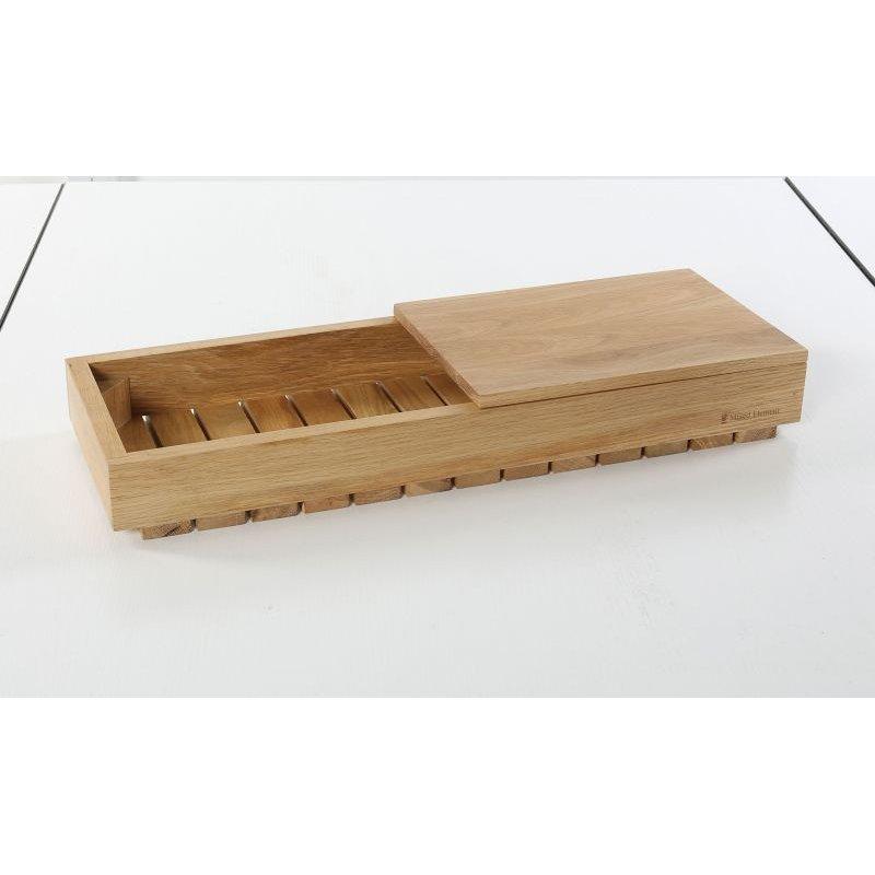 木製トレイとの使用例