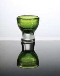 カラーミニグラス(グリーン) φ6.4×7cm 70ml