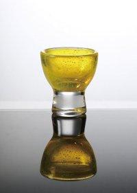カラーミニグラス(イエロー) φ6.4×7cm 70ml
