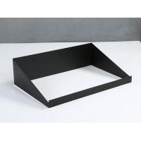 ブッフェスタンド(マットブラック) 49.5x32x(3.5/13.5)cm